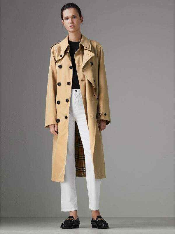 Gosha x Burberry Reconstructed Trench Coat in Honey | Burberry Singapore - cell image 2