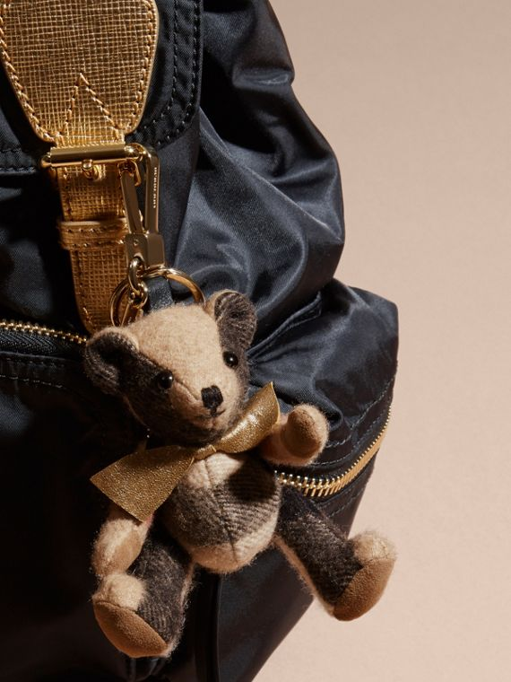 Thomas Bear Charm with Rucksack | Burberry Singapore - cell image 2