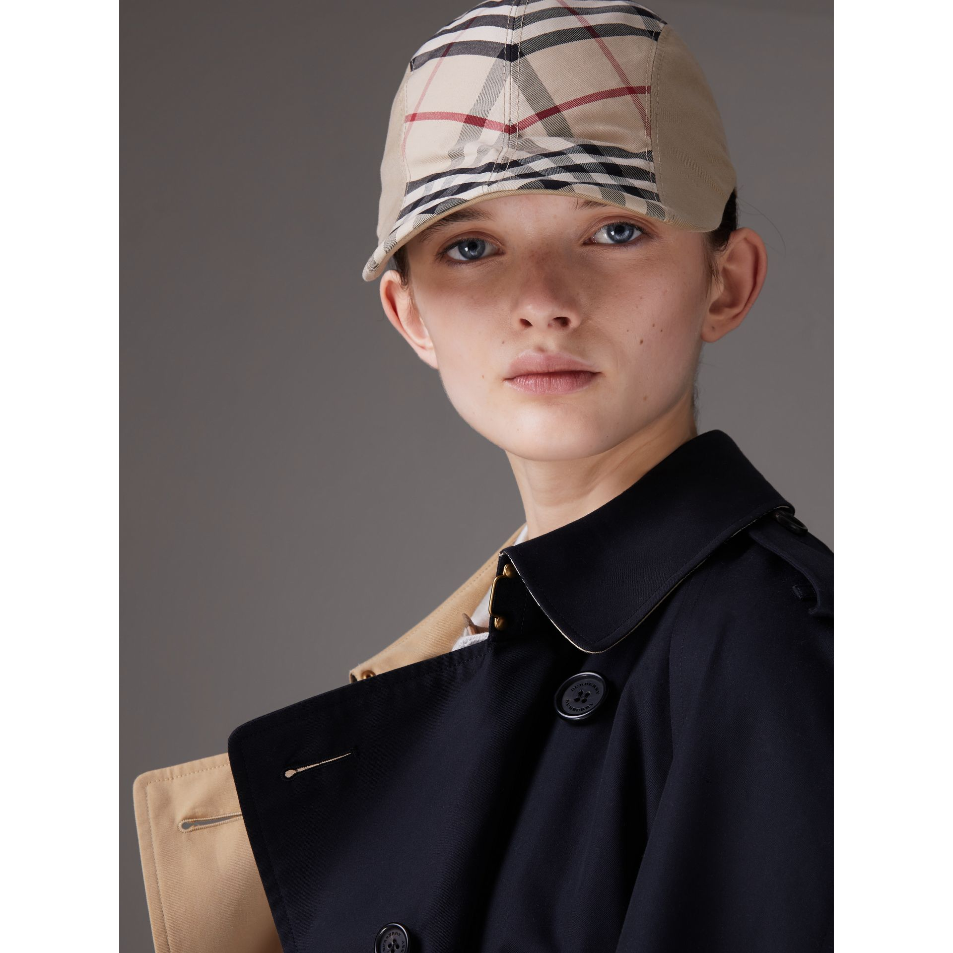 Gosha x Burberry Duckbill Cap in Honey | Burberry - gallery image 3