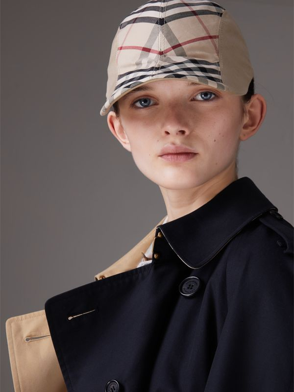 Gosha x Burberry Duckbill Cap in Honey | Burberry United Kingdom - cell image 2