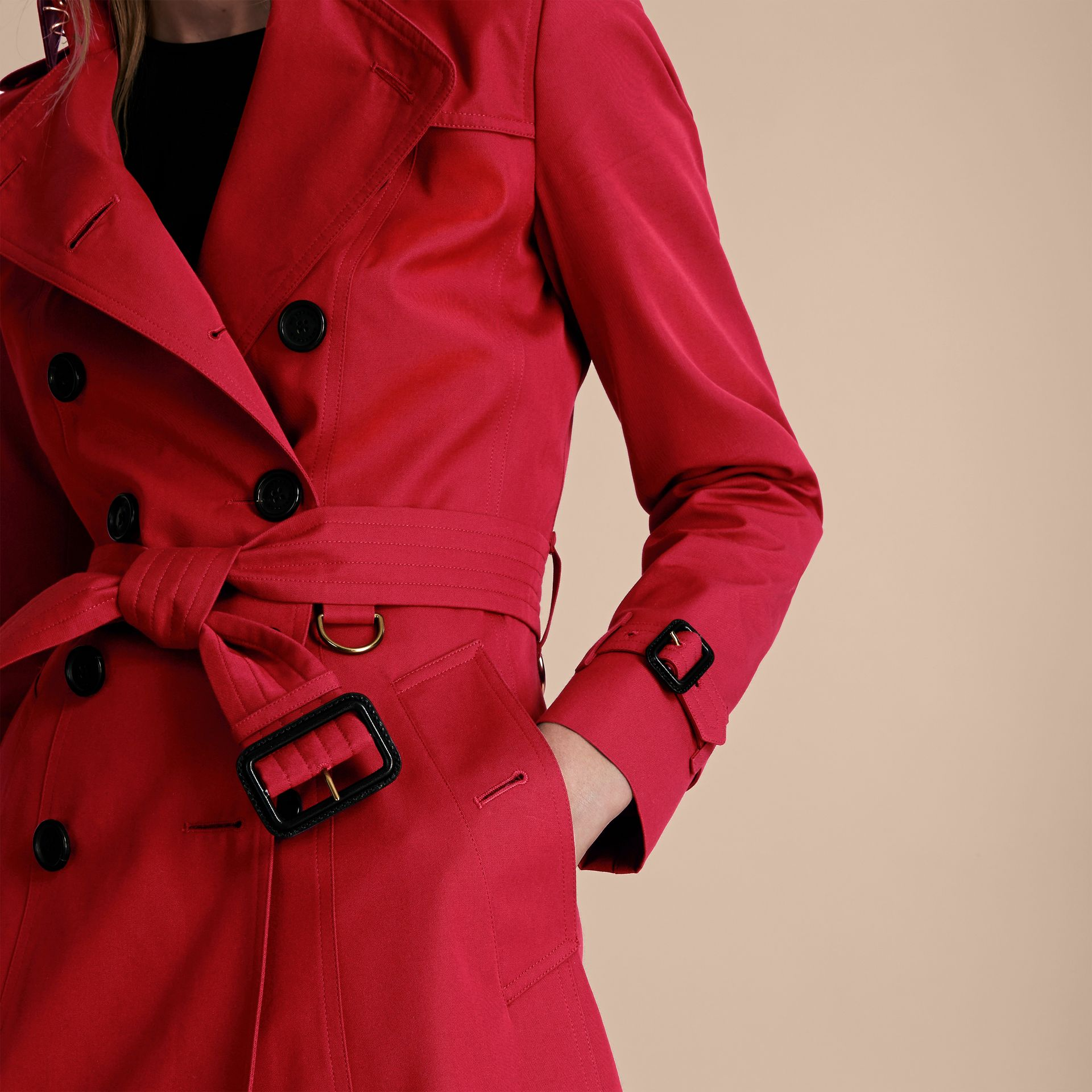 Rouge parade Trench-coat Heritage long The Chelsea Rouge Parade - photo de la galerie 5
