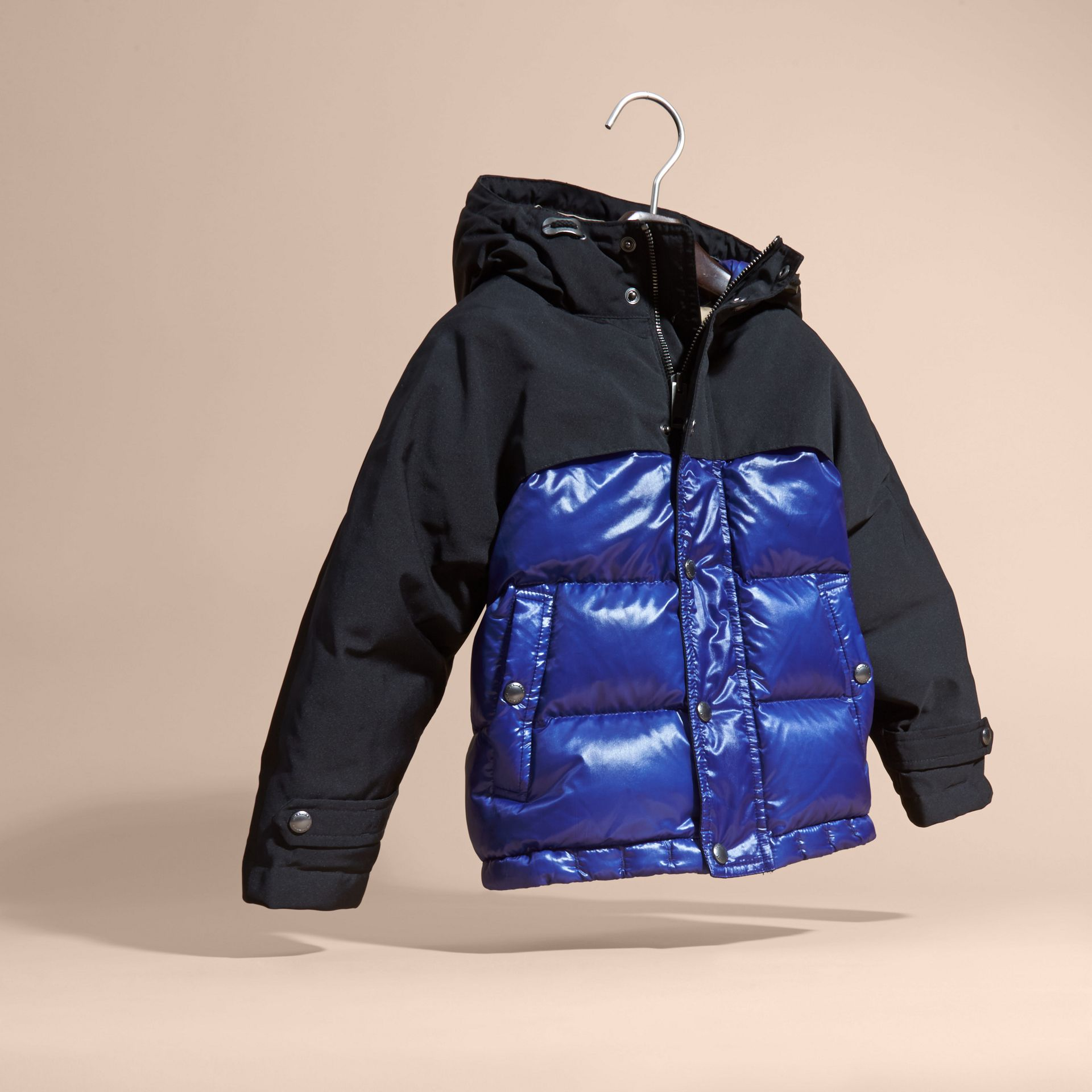 Shower-resistant Down-filled Puffer Coat - gallery image 3