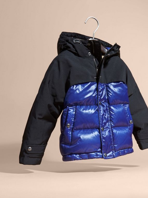 Shower-resistant Down-filled Puffer Coat - cell image 2
