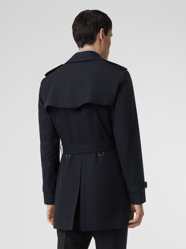 Short Chelsea Fit Trench Coat in Midnight Navy - Men | Burberry United Kingdom - cell image 2