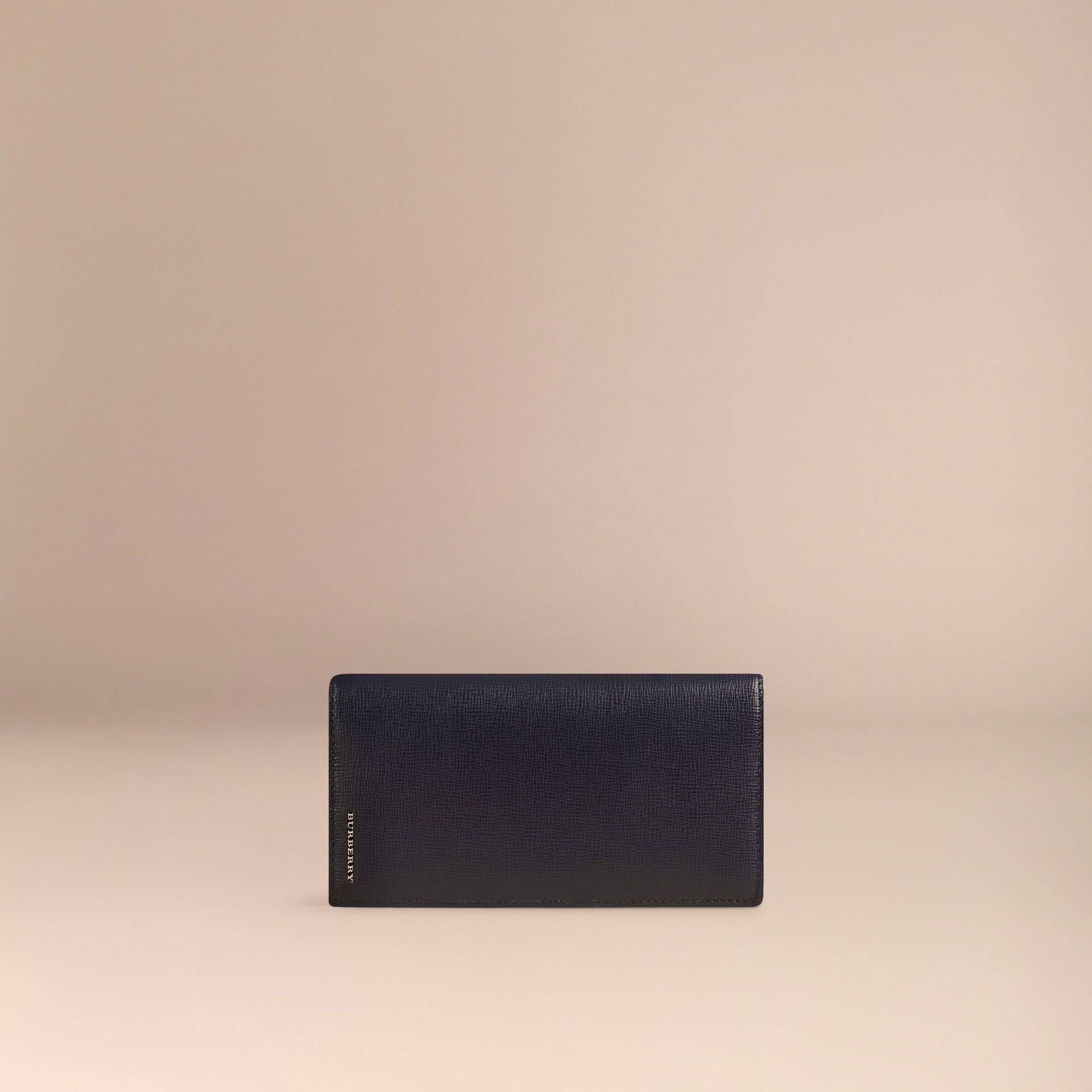 Dark navy London Leather Continental Wallet Dark Navy - gallery image 3