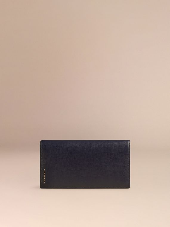 Dark navy London Leather Continental Wallet Dark Navy - cell image 2