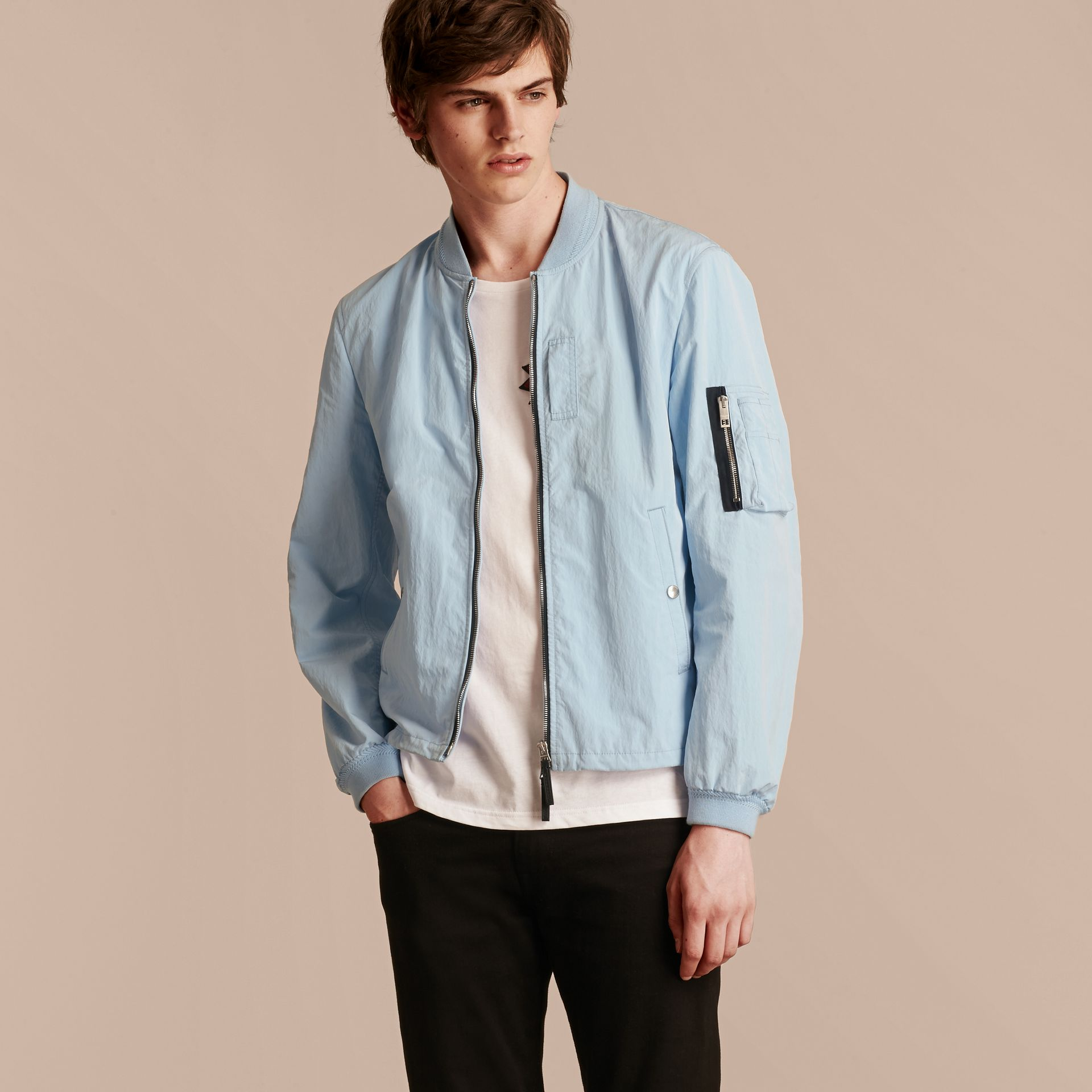 Lightweight Technical Bomber Jacket - gallery image 5
