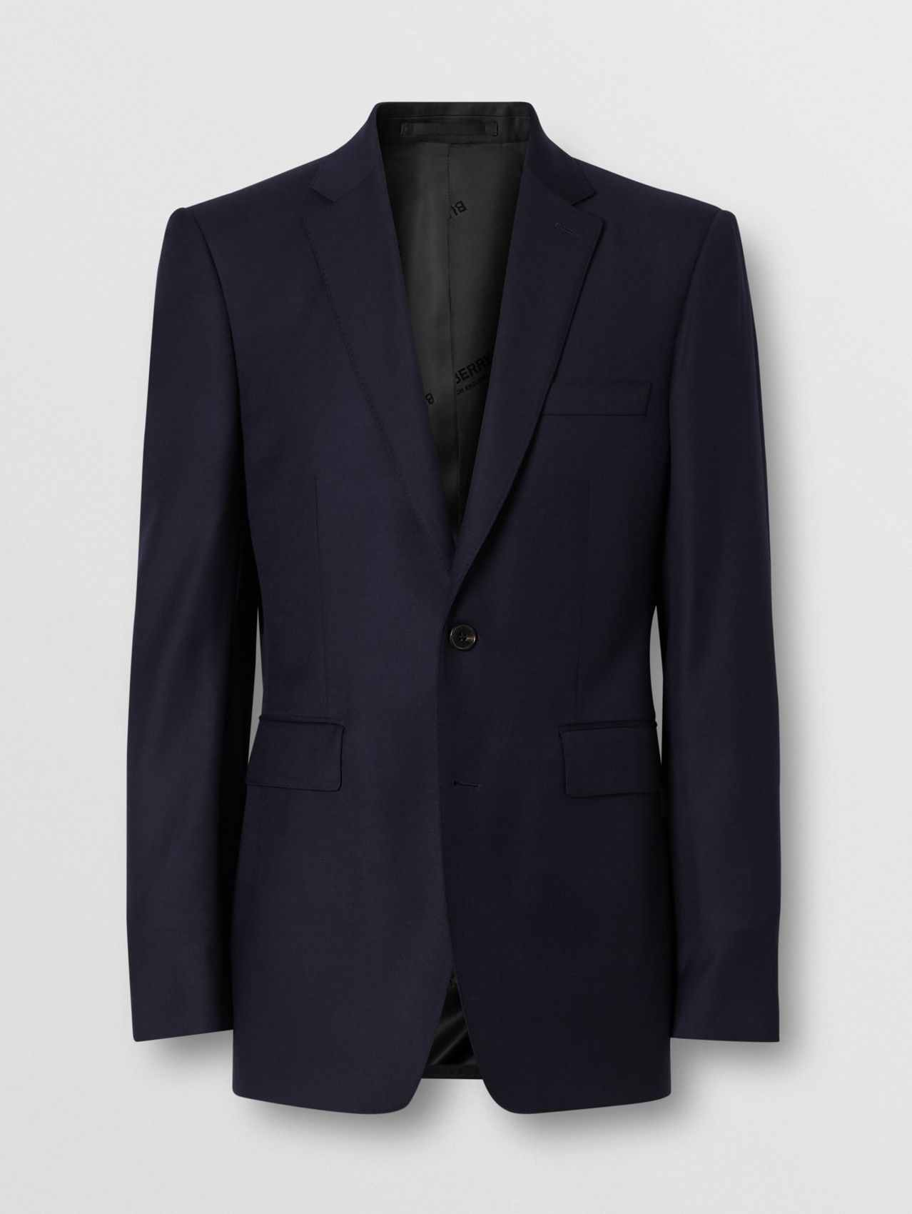Classic Fit Wool Suit in Navy