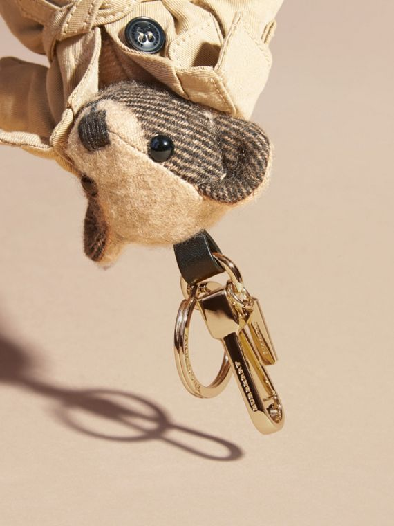 Camel Thomas Bear Charm in Trench Coat - cell image 3