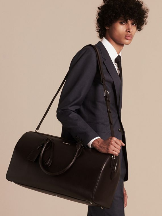 Wine London Leather Holdall - cell image 2