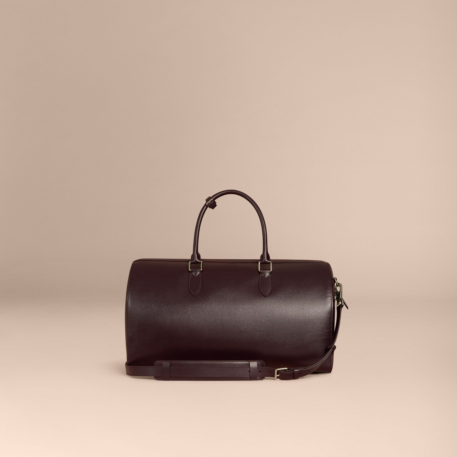 Wine London Leather Holdall - gallery image 4