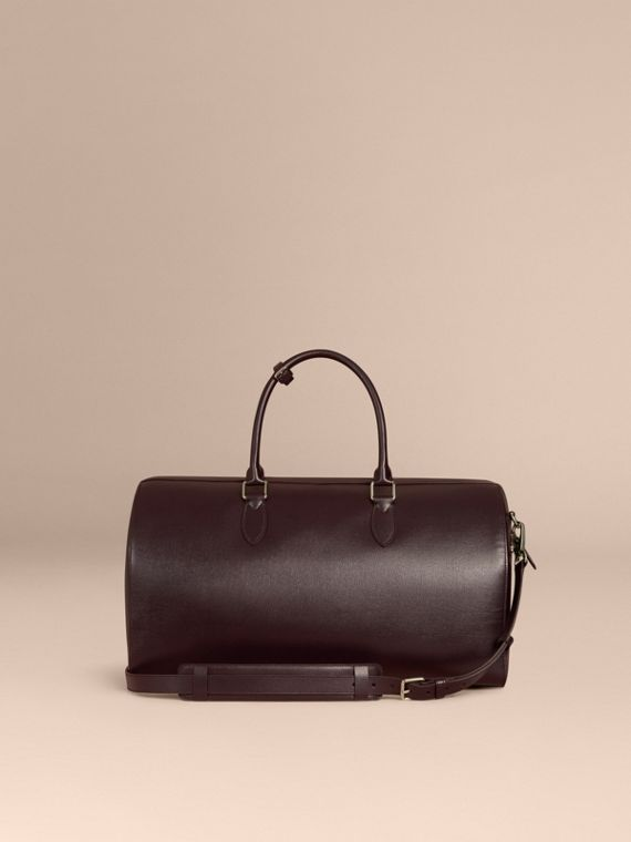 Wine London Leather Holdall - cell image 3