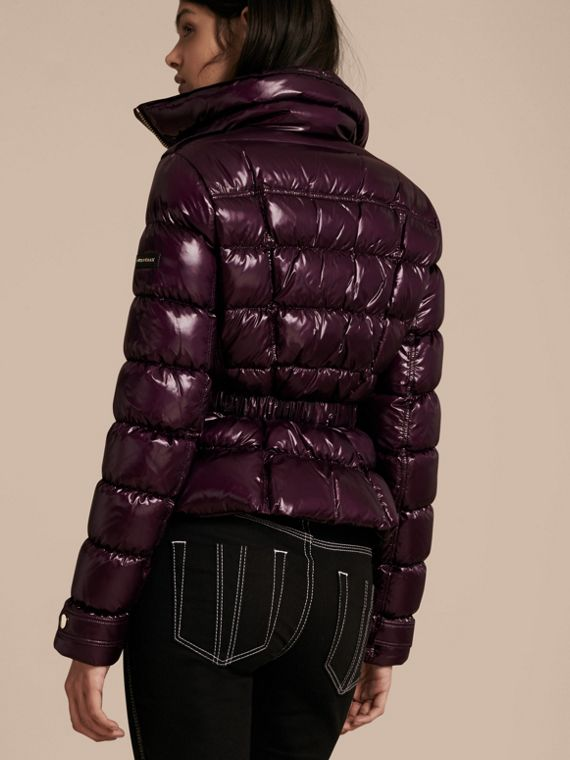 Dark elderberry Lightweight Down-filled Jacket - cell image 2