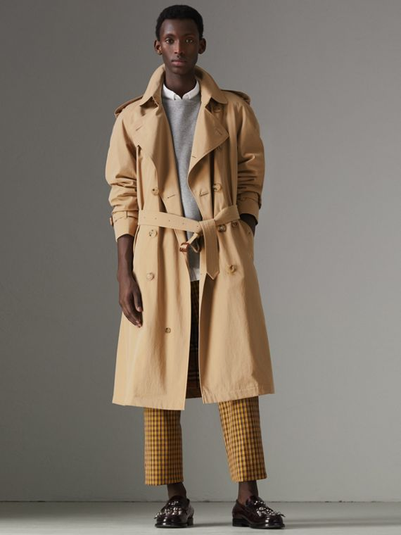 The Westminster Heritage Trench Coat in Honey