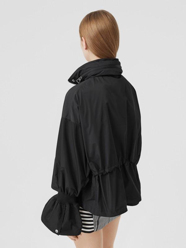 Packaway Hood Bio-based Nylon Jacket in Black - Women | Burberry - cell image 2