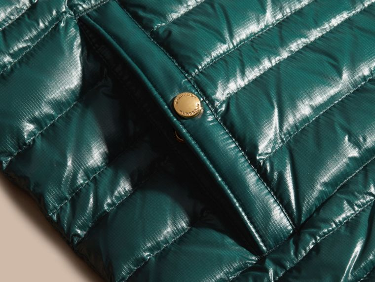 Pine green Lightweight Down-filled Gilet Pine Green - cell image 1