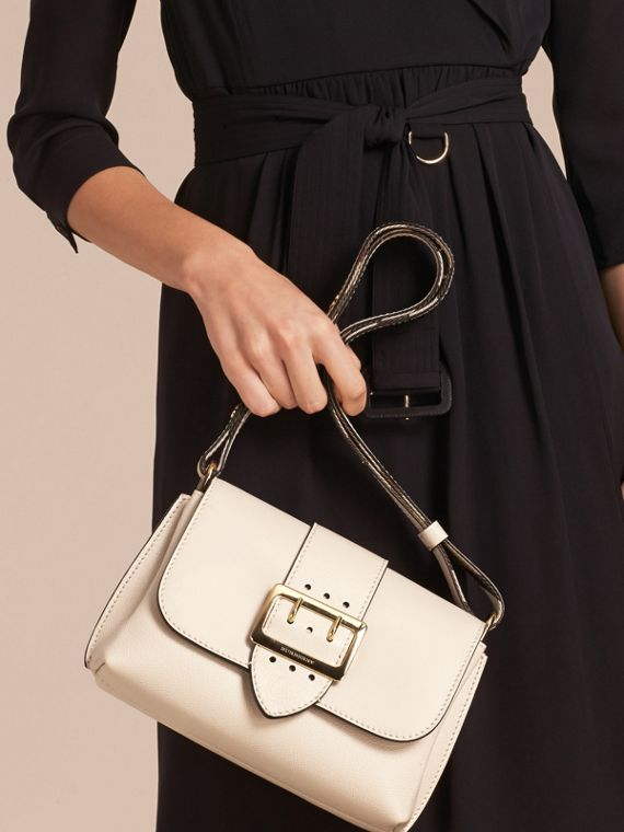 The Buckle Crossbody Bag in Leather