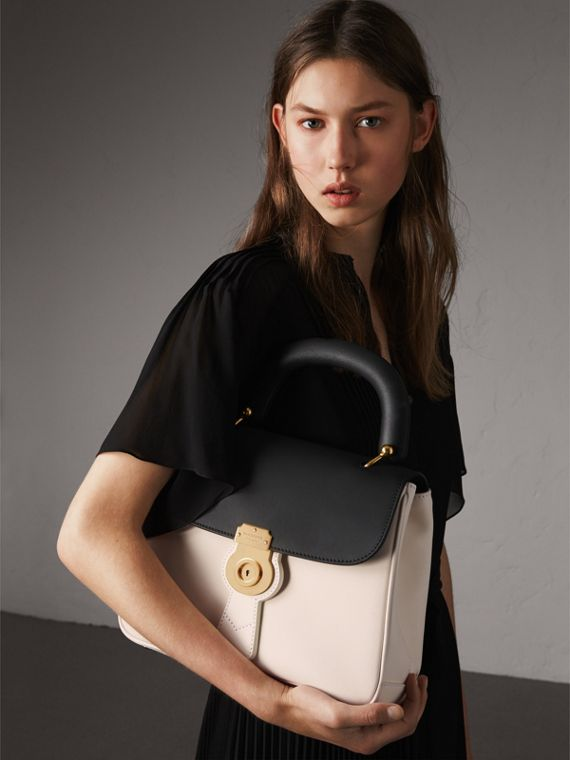 The Medium DK88 Top Handle Bag in Natural/black - Women | Burberry Australia - cell image 3