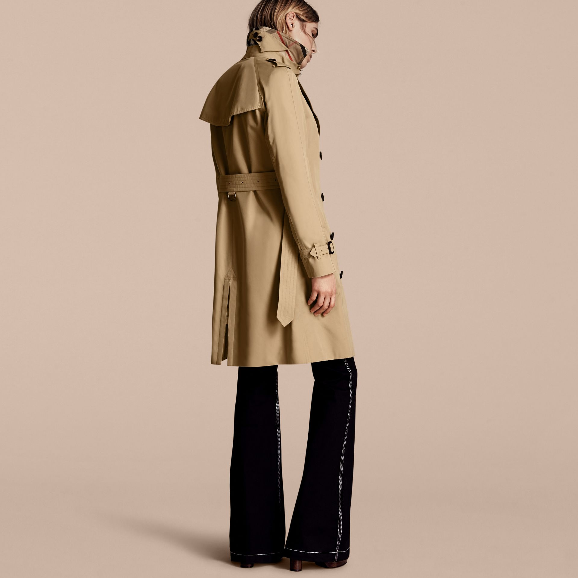 Honey The Westminster – Long Heritage Trench Coat Honey - gallery image 3