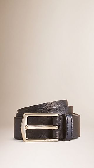 London Check Belt