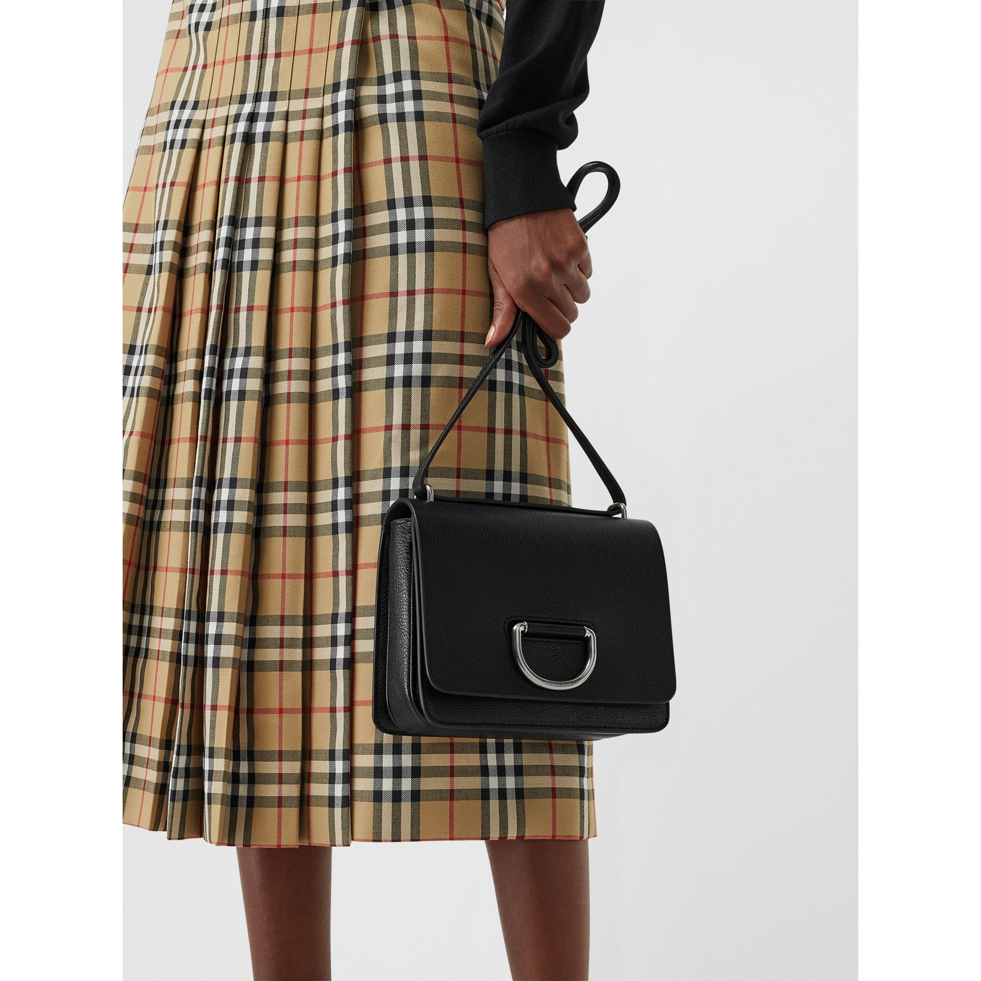 The Small D-Ring Bag aus Leder (Schwarz) - Damen | Burberry - Galerie-Bild 3