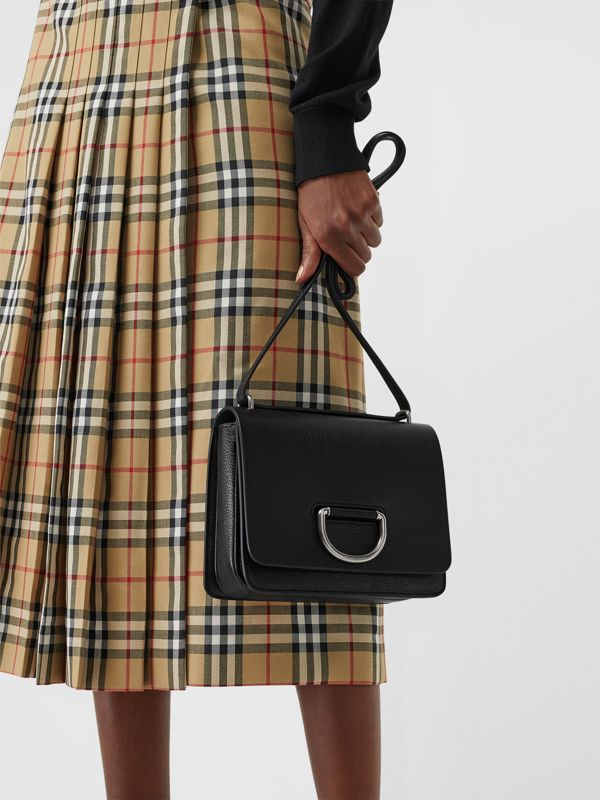 The Small D-Ring Bag aus Leder (Schwarz) - Damen | Burberry - cell image 3