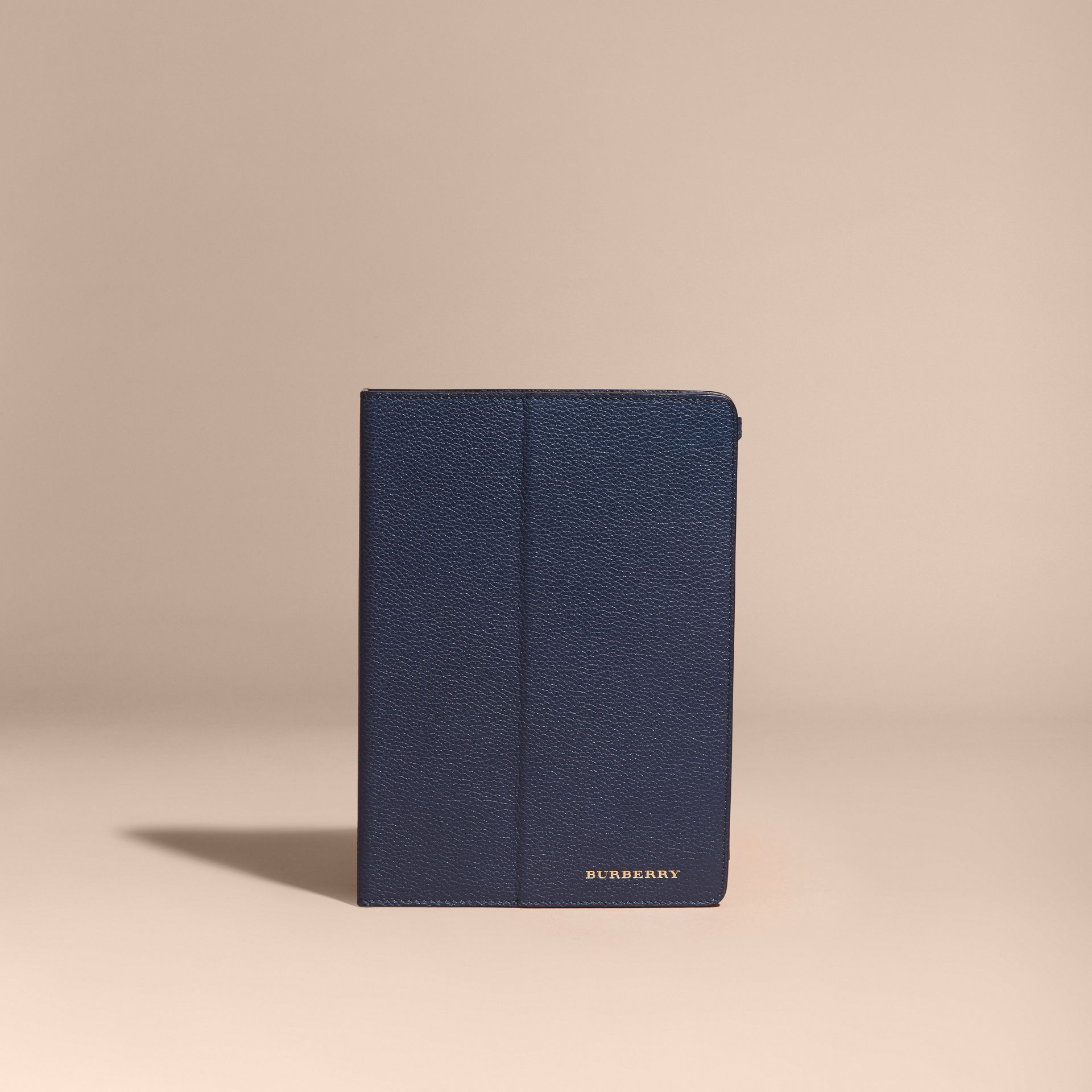Bright navy Grainy Leather iPad Case Bright Navy - gallery image 5