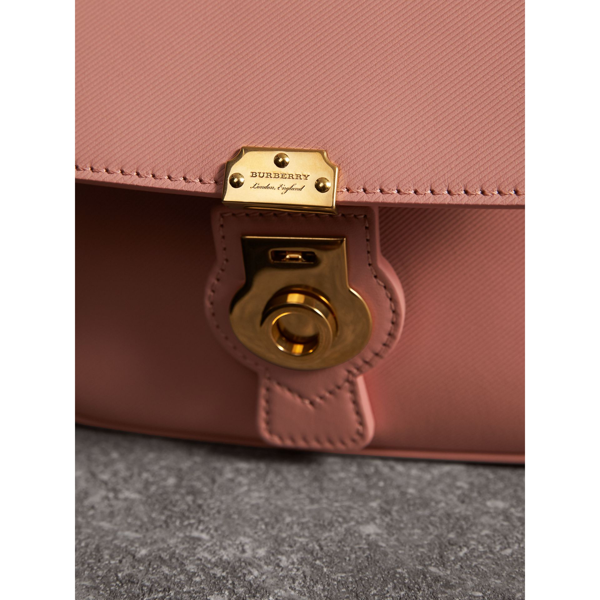 The Mini DK88 Top Handle Bag in Ash Rose - Women | Burberry United Kingdom - gallery image 1