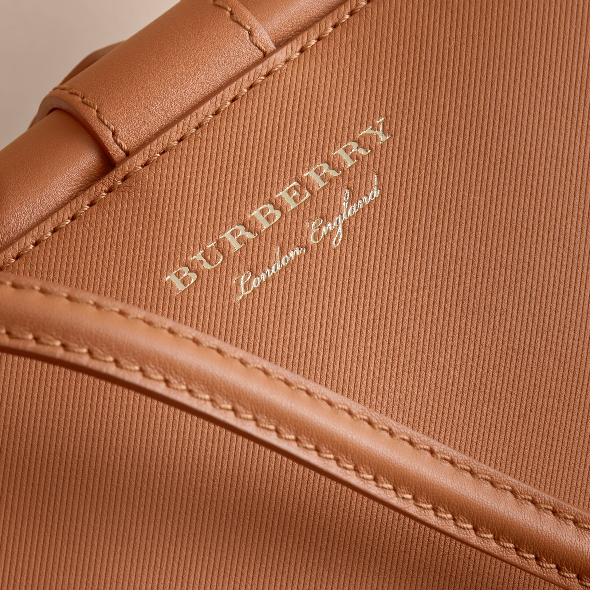 The DK88 Bowling Bag in Bright Toffee - Women | Burberry Canada - gallery image 6