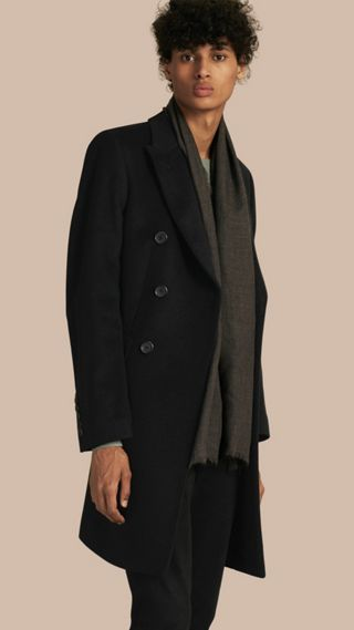 Tailored Wool Cashmere Coat