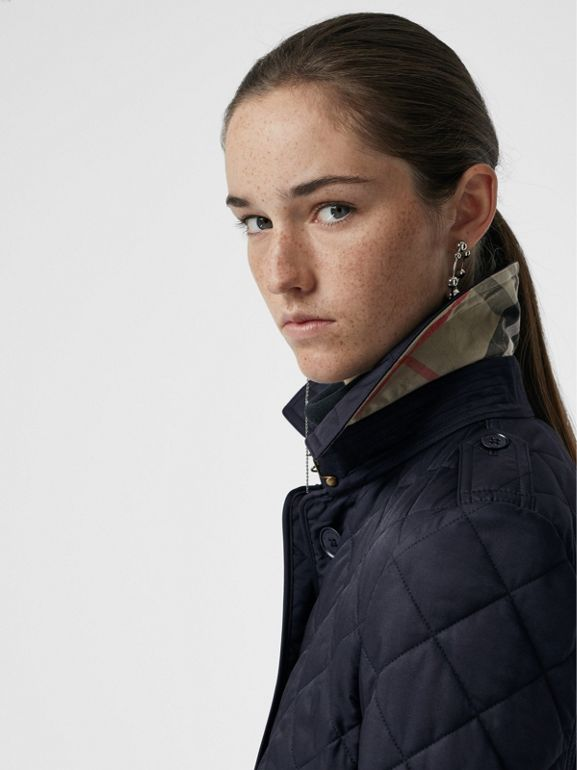 Jacke in Rautensteppung (Marineblau) - Damen | Burberry - cell image 1