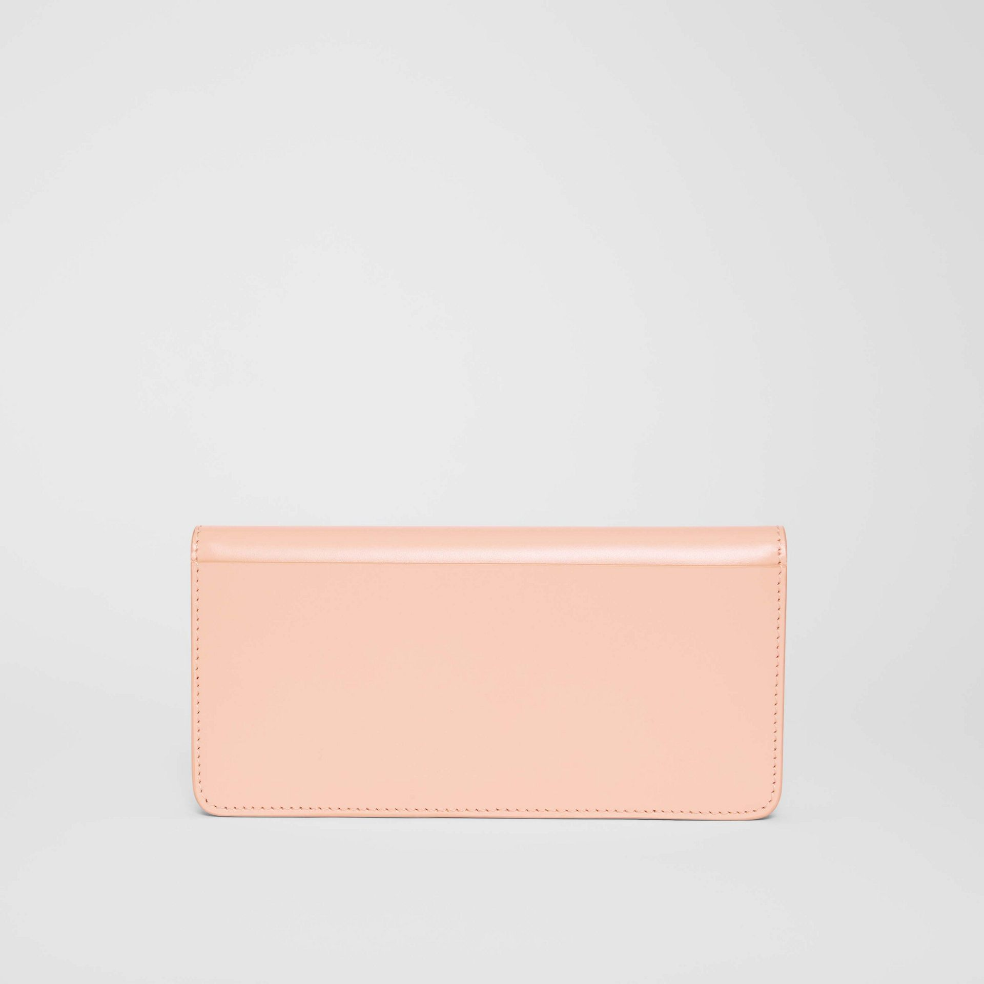 Horseferry Embossed Leather Continental Wallet in Blush Pink - Women | Burberry - gallery image 5