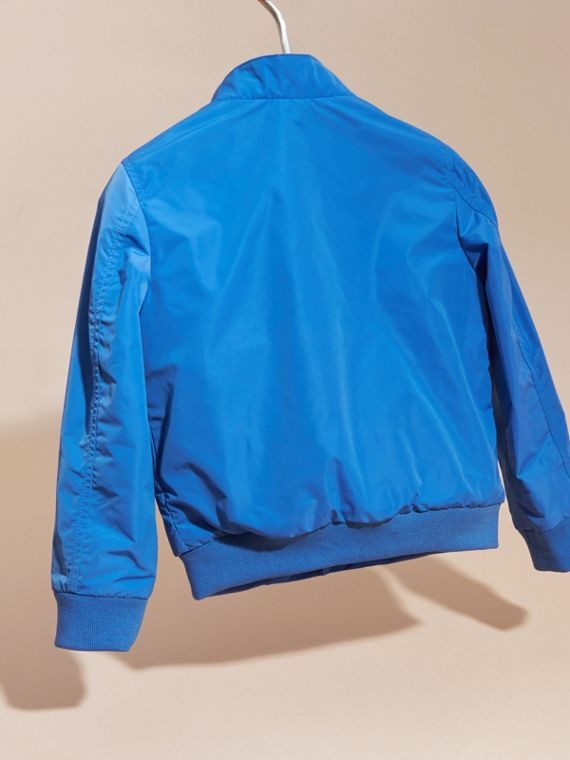 Bright hydrangea blue Packaway Blouson - cell image 3