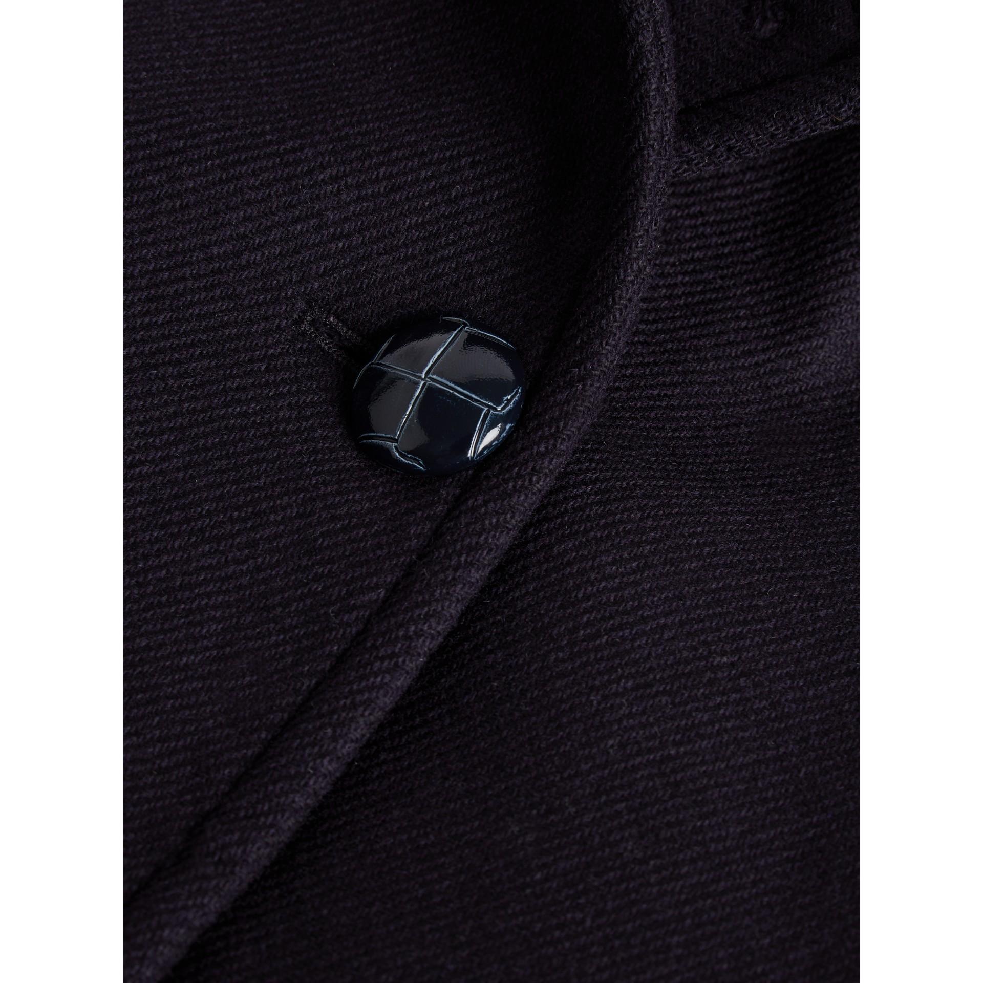 Peacoat aus doppelseitig gewebter Wolle (Marineblau) | Burberry - Galerie-Bild 5