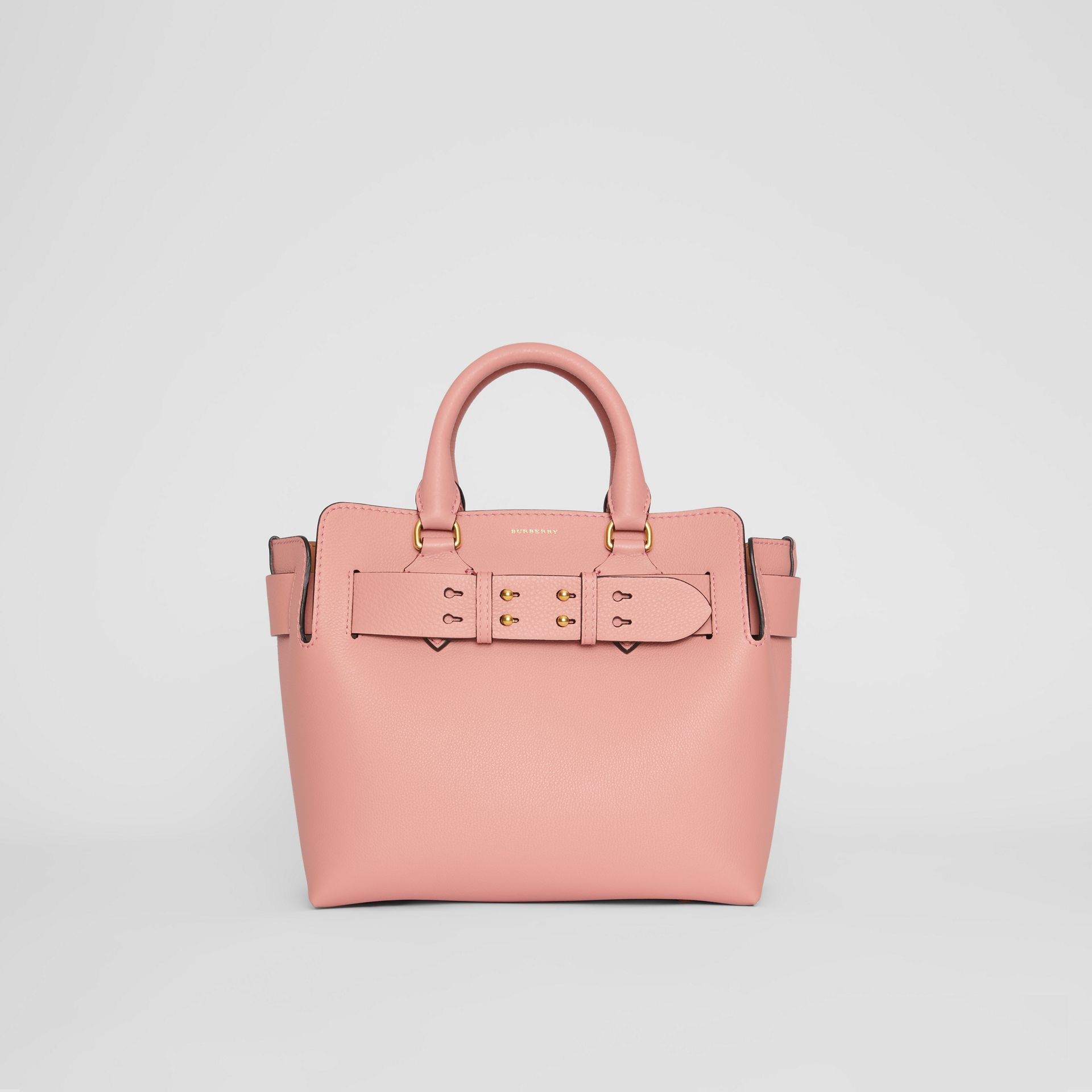 The Small Leather Belt Bag in Ash Rose - Women | Burberry Canada - gallery image 0