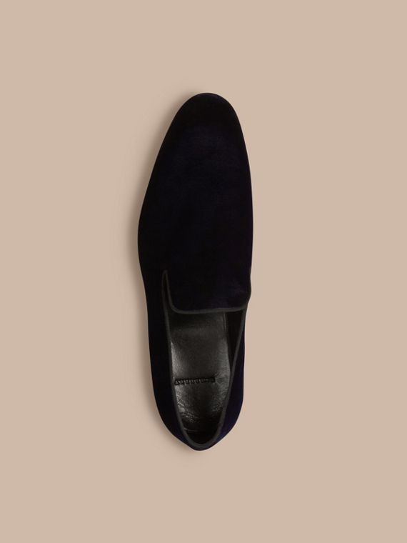 Dark indigo Velvet Loafers - cell image 2