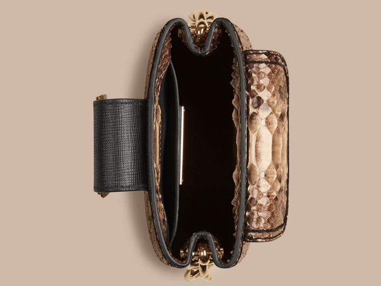 The Small Square Buckle Bag in Python Limited Edition - cell image 4