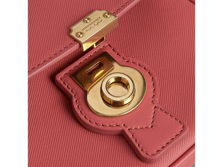 The Mini DK88 Top Handle Bag in Blossom Pink - Women | Burberry - cell image 1
