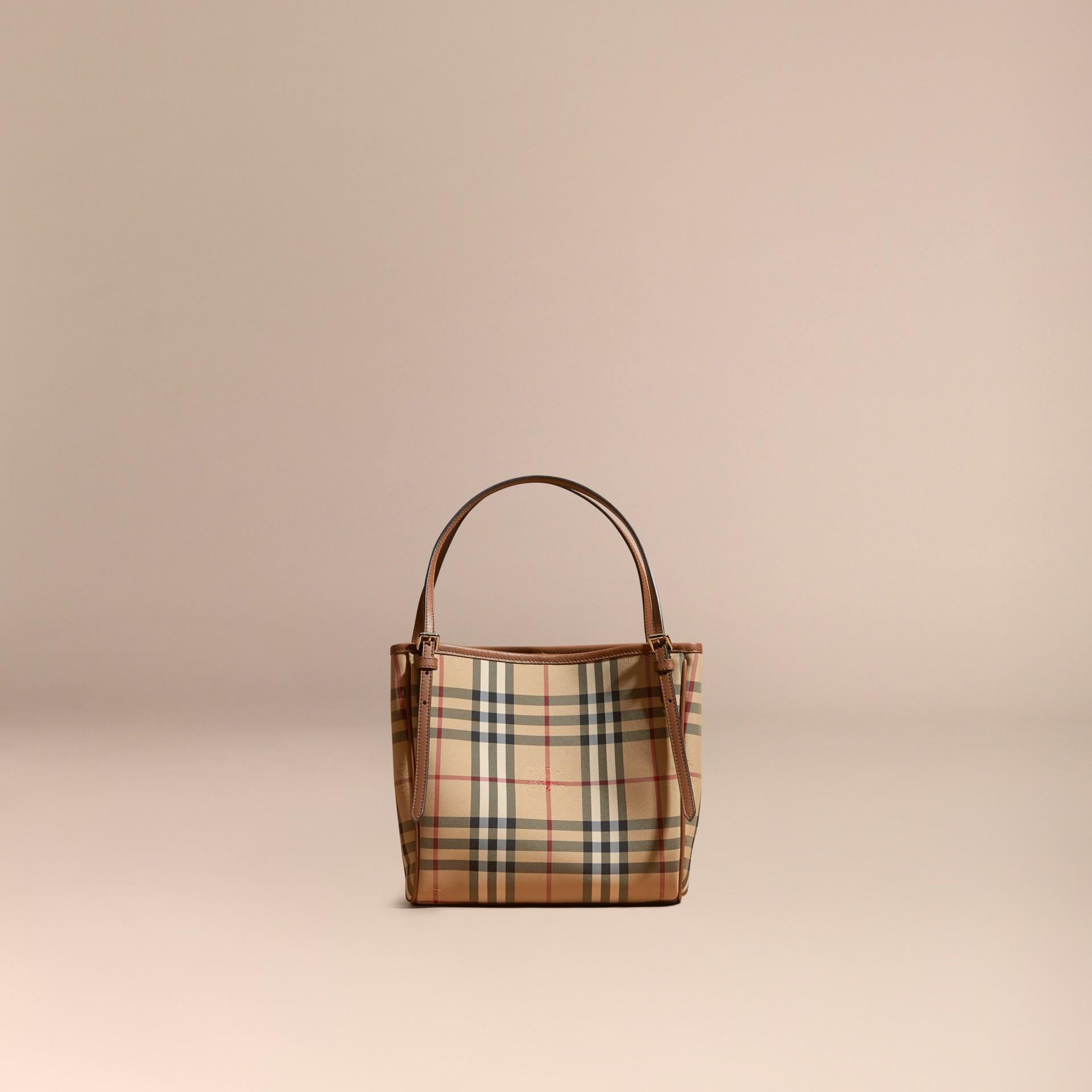 Miel/hâle Mini sac The Canter avec motif Horseferry check Miel/hâle - photo de la galerie 8