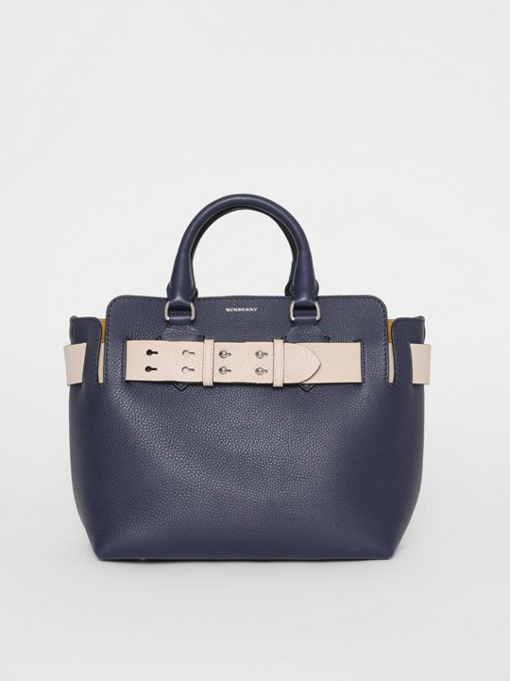 The Small Leather Belt Bag in Regency Blue 8b4b852e08