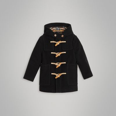 Double Faced Wool Duffle Coat by Burberry