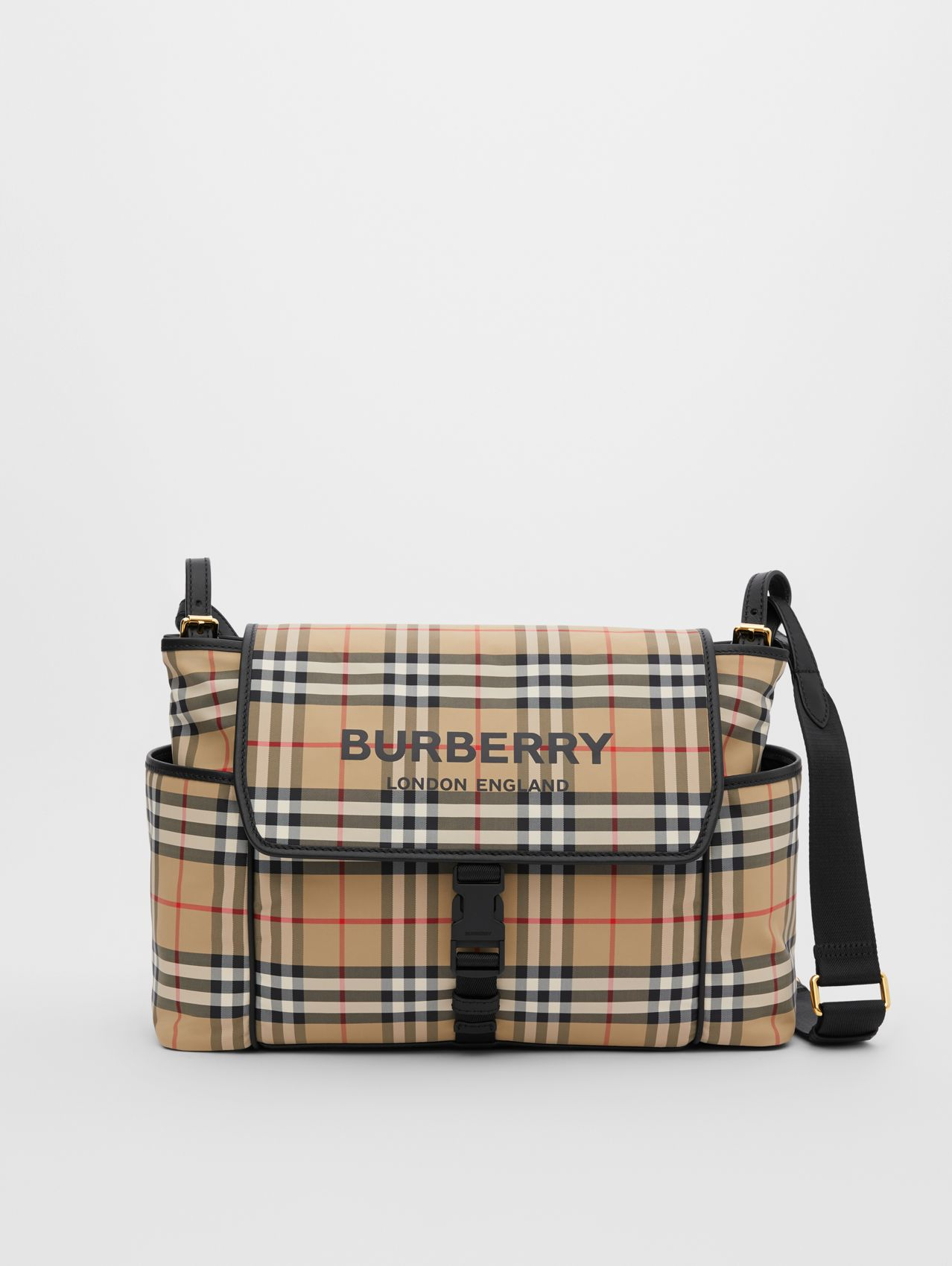 Vintage Check ECONYL® Baby Changing Bag (Archive Beige)