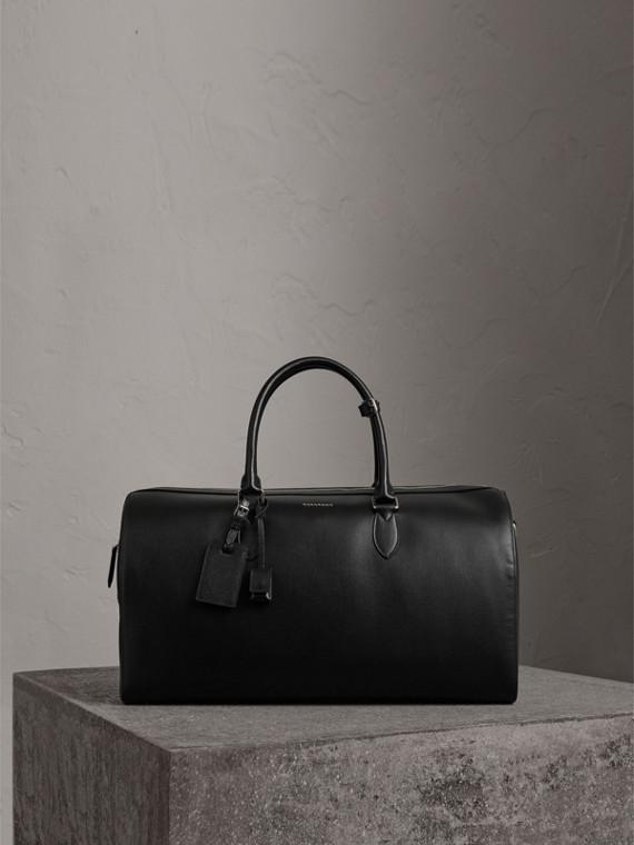 Fourre-tout en cuir London (Noir)