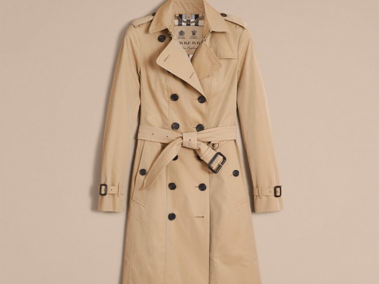 Miel The Sandringham – Trench-coat Heritage long Miel - cell image 4