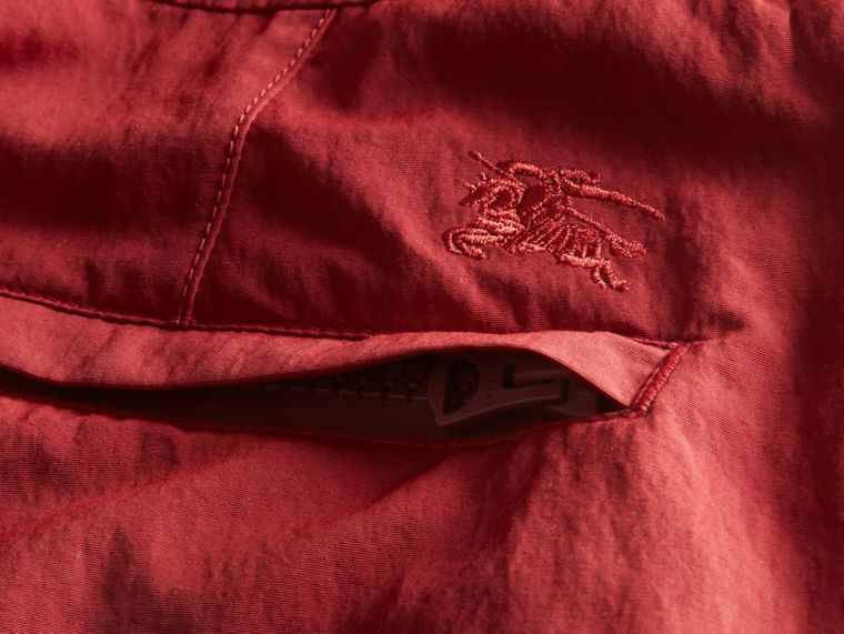 Tailored Swim Shorts in Parade Red - Men | Burberry Hong Kong - cell image 1