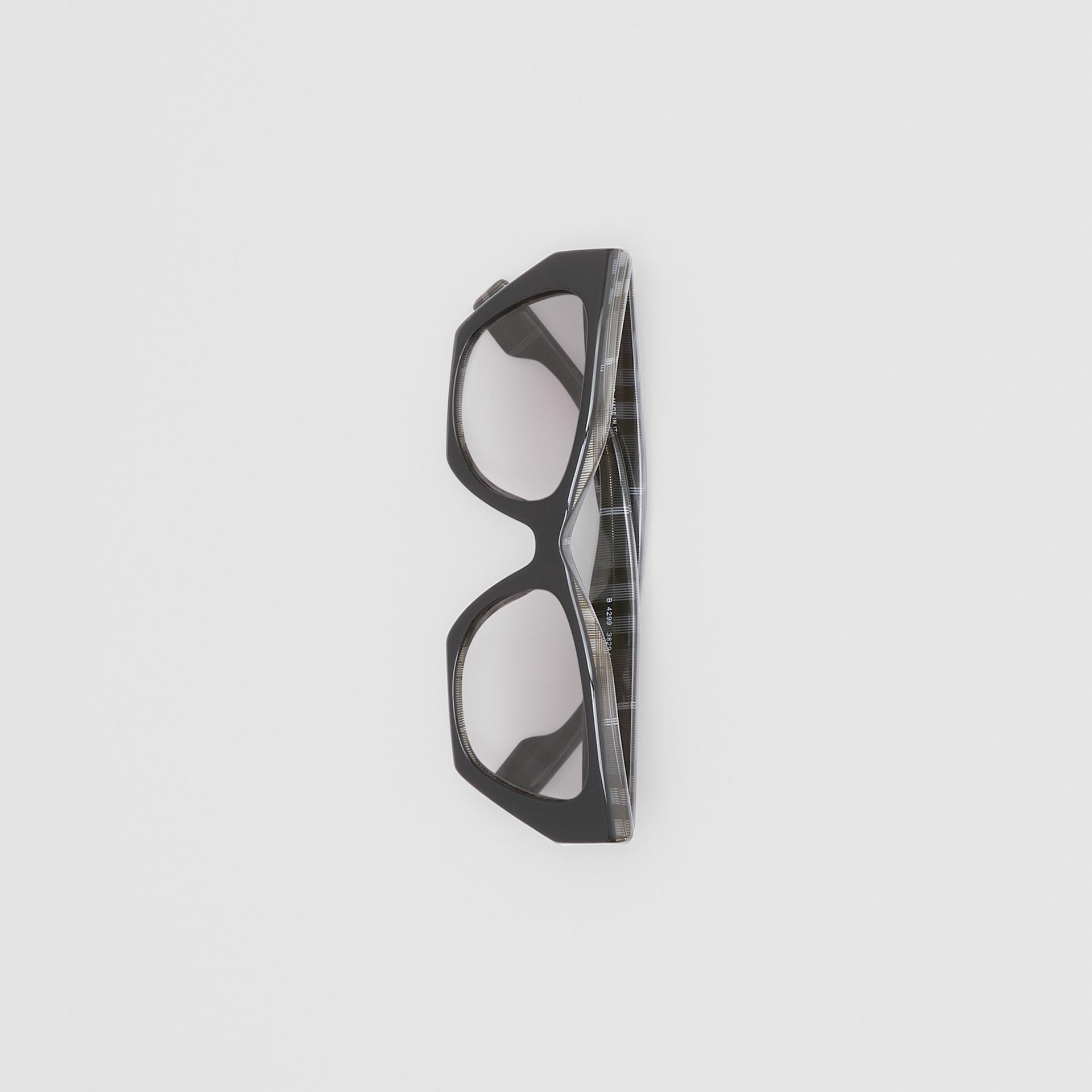 Butterfly-Sonnenbrille (Transparentes Dunkelgrau) - Damen | Burberry - Galerie-Bild 2
