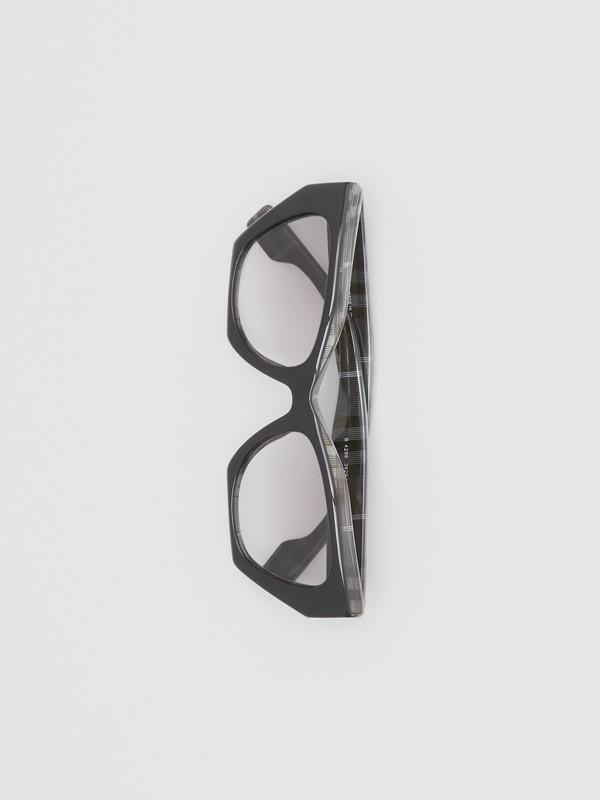 Butterfly-Sonnenbrille (Transparentes Dunkelgrau) - Damen | Burberry - cell image 2