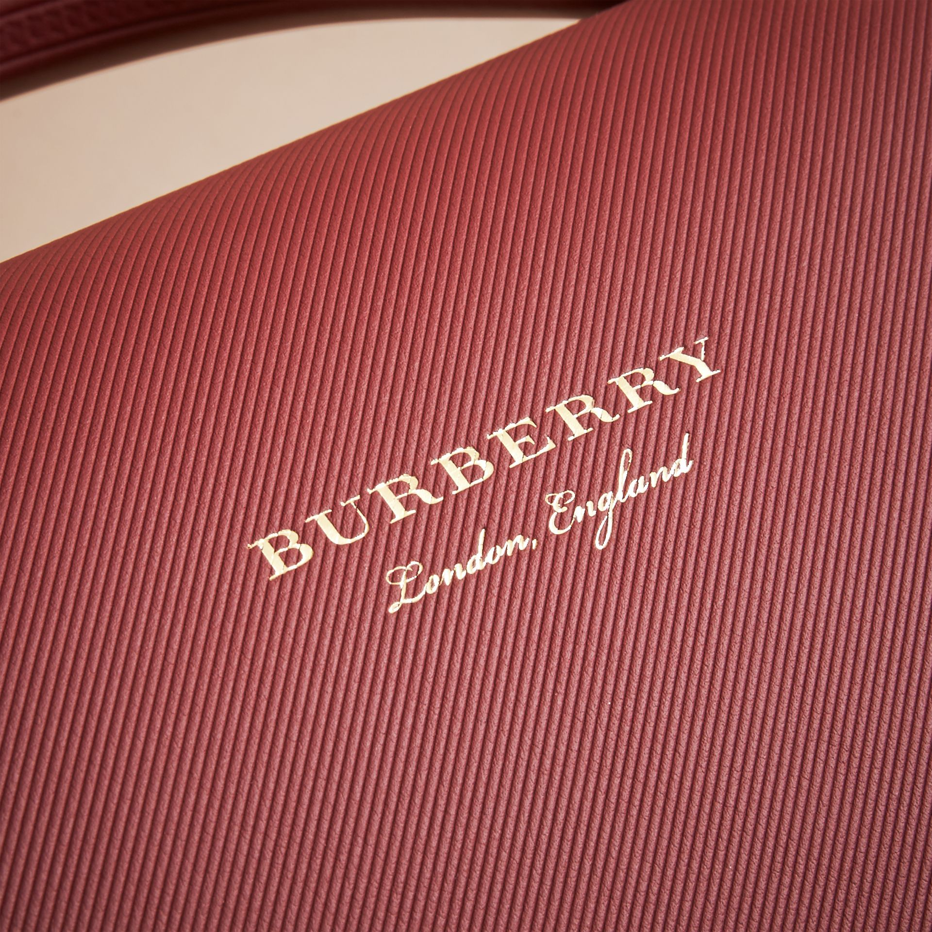 The Medium DK88 Top Handle Bag in Antique Red - Women | Burberry - gallery image 7