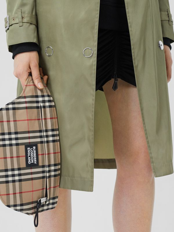 Logo Appliqué Vintage Check Brummell Bum Bag in Archive Beige | Burberry - cell image 2