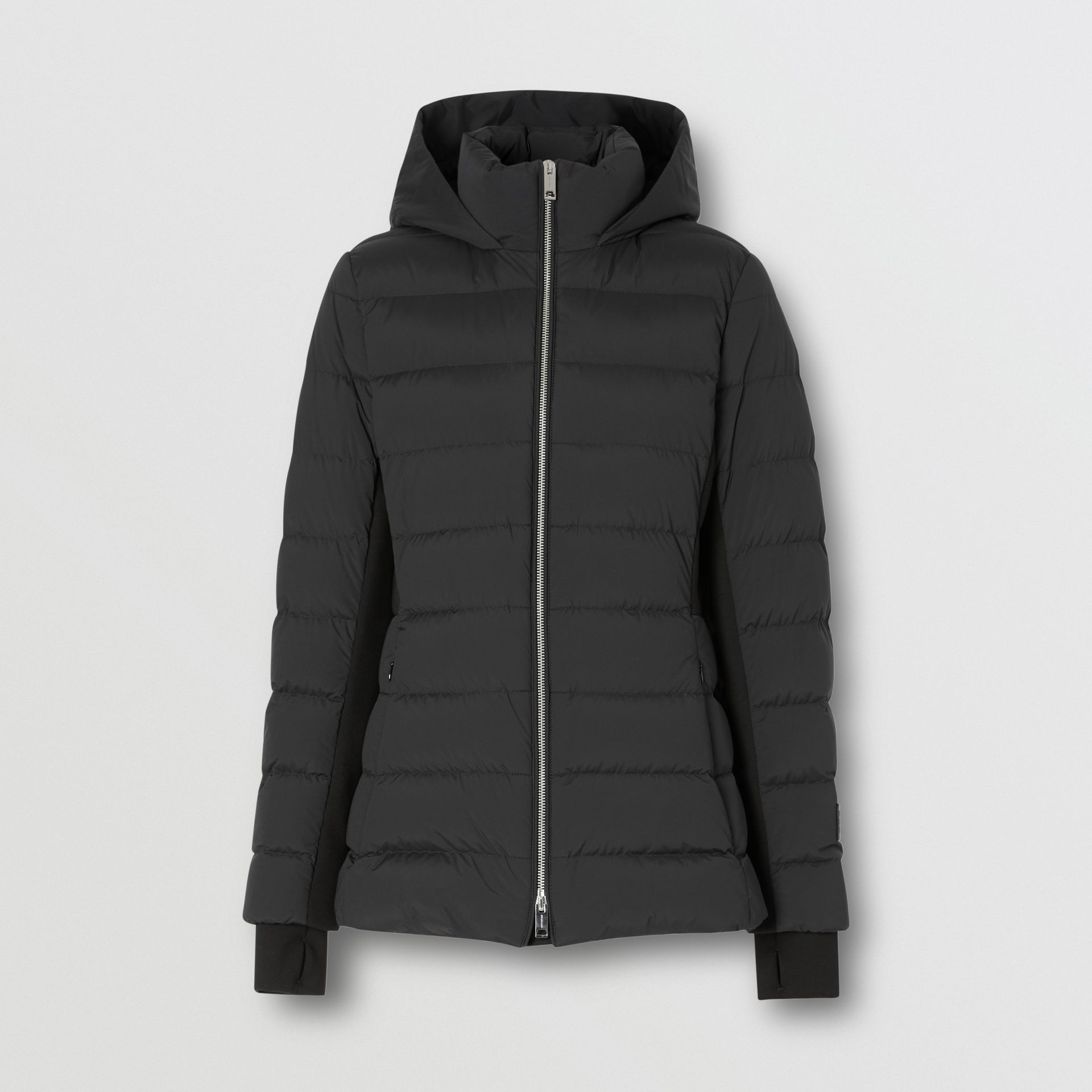 Hooded Puffer Jacket in Black - Women | Burberry United States - gallery image 3